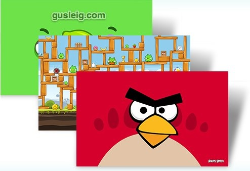 Angry Birds theme - Microsoft Windows