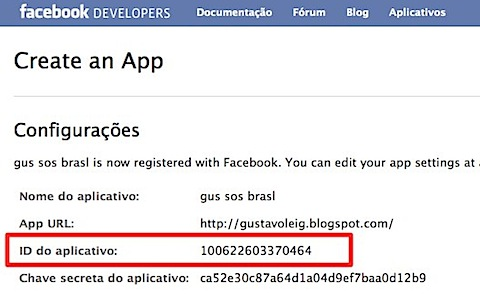 Create an App ID Facebook-1