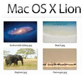 Mac OS X Lion DP4 Wallpapers