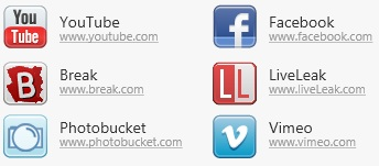 video downloader youtube facebook vimeo logo