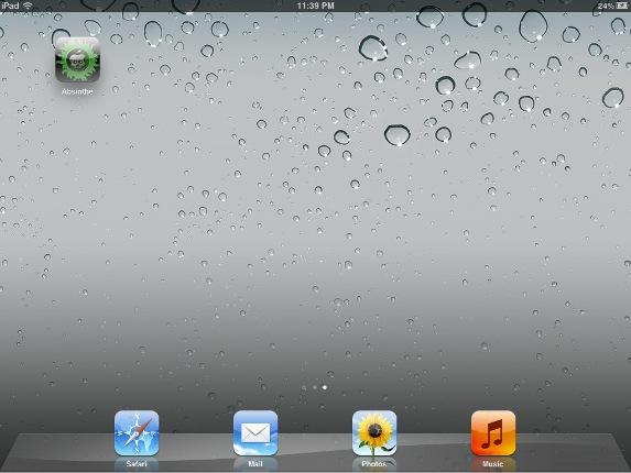 absinthe app ipad