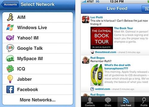 App Store - Meebo