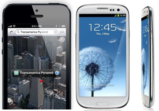 iphone 5 x galaxy s3
