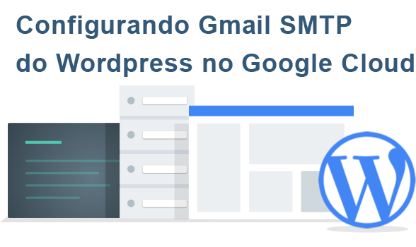 smtp google cloud wordpress