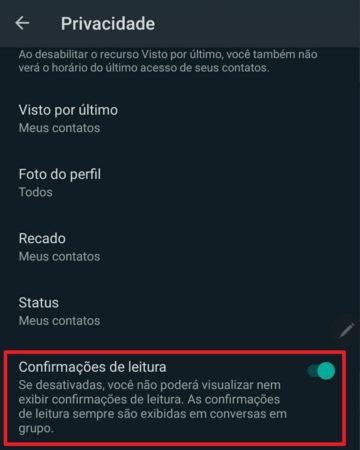 Ler Mensagens Enviadas Sem Dar a Confirmação de Leitura no WhatsApp (Tique Azul)