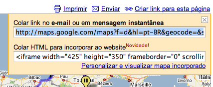 Google Maps Html Blog
